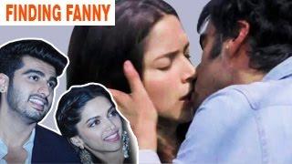 Deepika Padukone, Arjun Kapoor's HOT KISS -- Finding Fanny Official Trailer