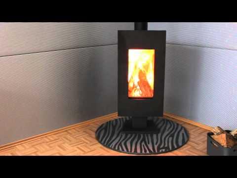 panadero osaka kaminofen woodstove test youtube. Black Bedroom Furniture Sets. Home Design Ideas