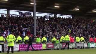 Birmingham City fans sing