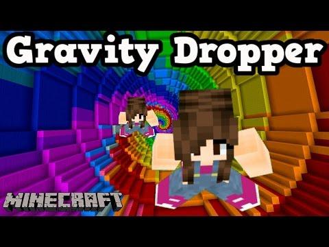 Minecraft Minigame - SEJA RÁPIDO! (Gravity Dropper) - Видео из Майнкрафт (Minecraft)