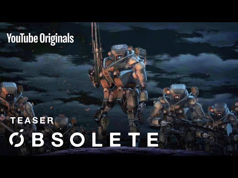 Gen Urobuchi Writes Robotic Mecha 3D CG Anime 'OBSOLETE'