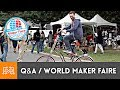 Q&A at World Maker Faire NY 2018