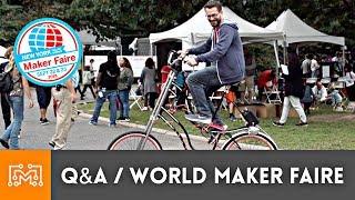Q&A at World Maker Faire NY 2018