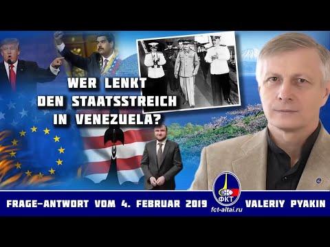 Wer steht hinter dem Putsch in Venezuela (Valeriy Pyakin 4.2.2019)