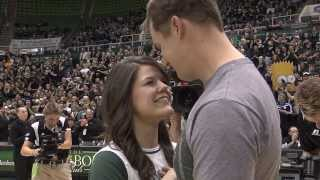 Halftime Proposal at the Convo