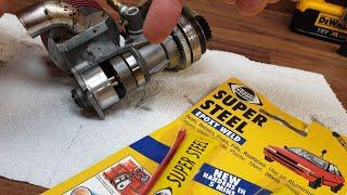 Can You Glue A Nitro Engine Back Together?