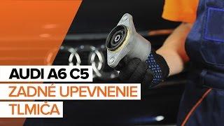 Ako vymeniť Lozisko kolesa A6 Avant (4B5, C5) - krok za krokom video příručka