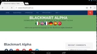 [MOBILE]Avoir le Play Store gratuit BlackMart