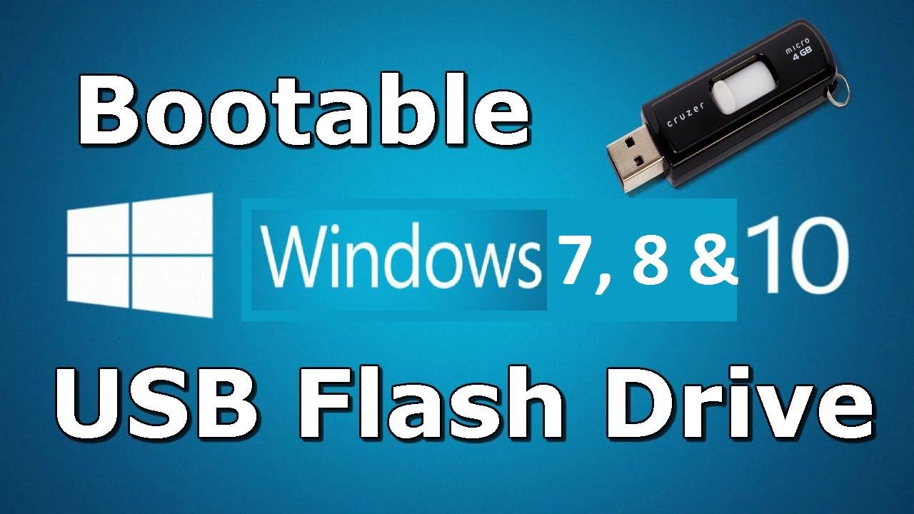 How to create a bootable Windows USB drive