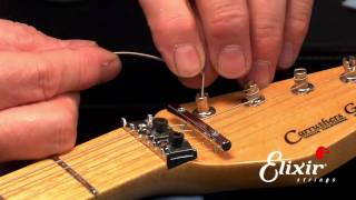 How to restring your Floyd Rose Tremolo System with John Carruthers