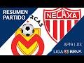 Resumen Y Goles   Morelia Vs Necaxa  Jornada 13 - Apertura 2019   Liga BBVA MX