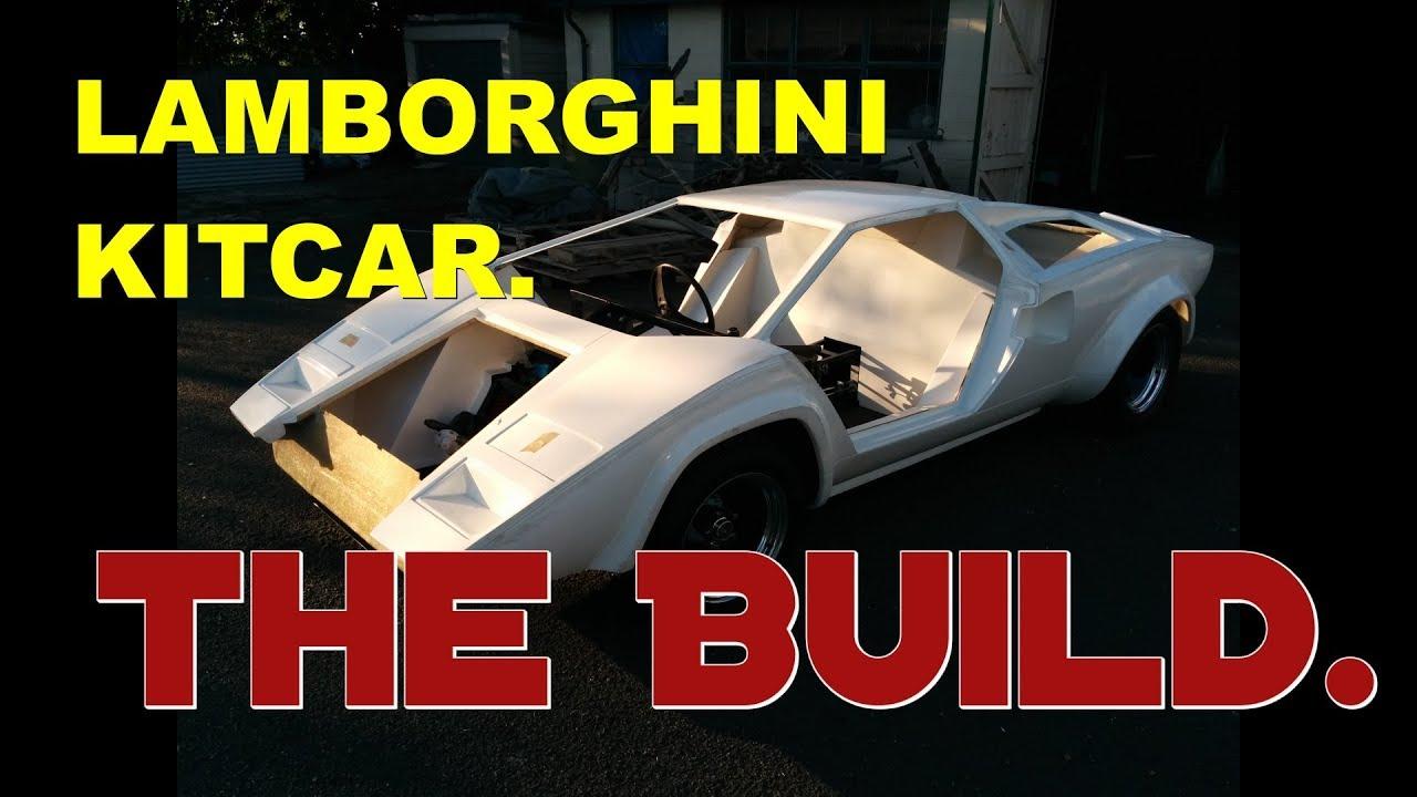 Lamborghini Kitcar Build The Journey Part 1 Youtube