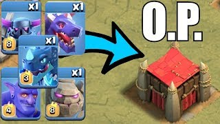 "SOO MANY TROOPS INSIDE!!!  ""Clash Of Clans"" GOBLIN CASTLE is OVERPOWERED!!"