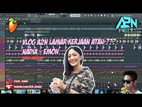 A2NVLOG | Cara Membuat Lagu Nadia Zerlinda - Emoh