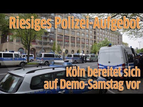 AfD-Parteitag in Köln: Stadt und Polizei bereiten sich auf den Demo-Samstag vor