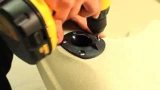 Flush Mounted Fishing Rod Holder - Malibu Kayaks Installation Instruction