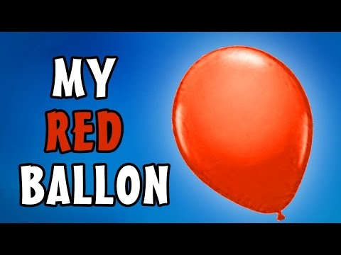 My Red Balloon | English Nursery Rhymes