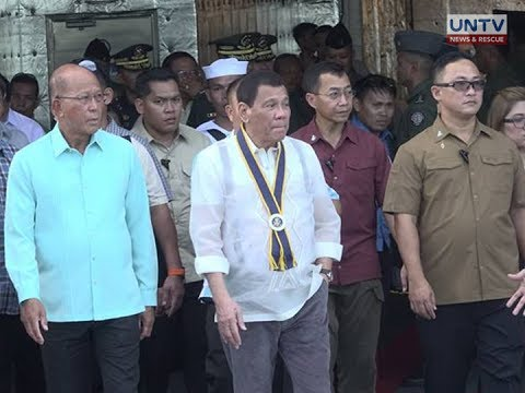 PRRD accepts offer of the MNLF to help fight the Maute group