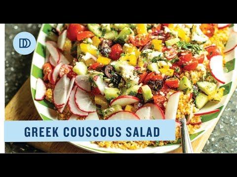 Greek Couscous Salad Recipe
