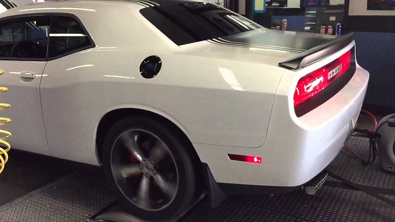 2014 Dodge Challenger Shaker Dyno tested  YouTube