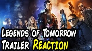 NERDS REACT to DC's LEGENDS OF TOMORROW First Look Trailer