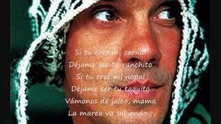 Manu Chao la marea (letra)
