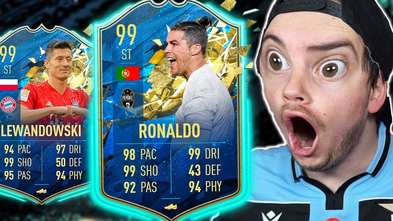 Youtube Video Statistics For Cristiano Ronaldo Tots 99 Trovo Lewandowski Tots E Tots Serie A Fifa 20 Pack Opening Noxinfluencer
