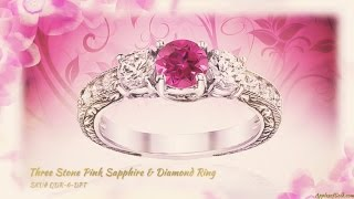 Pink Topaz Gemstone Jewelry from Apples of Gold