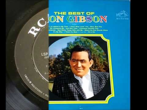 Lonesome Number One , Don Gibson , 1961 Vinyl