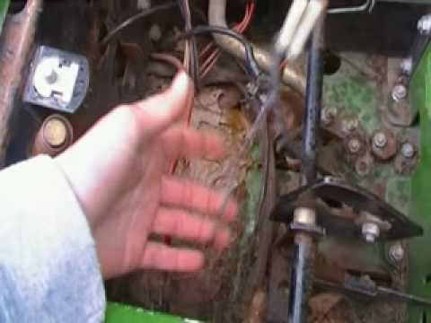Dodge Ram Starter Wiring John Deere Rx75 Youtube