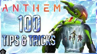 ANTHEM: 100 BEGINNER TIPS N