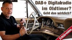 Erklärungsvideo zum Thema DAB+ im klassischen Fahrzeug