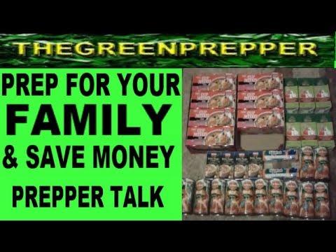 PREP FOR YOUR FAMILY & SAVE MONEY - DOOMSDAY PREPPERS PREPPERTALK PREPPING PREPAREDNESS FOOD STORAGE