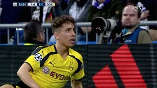 Emre Mor vs Real Madrid (Away) (07/12/2016) 720p HD by EC17