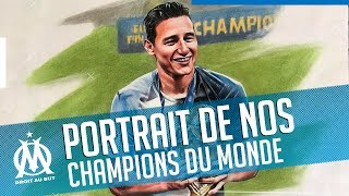 Portrait de nos Champions du Monde by Percymad 🖍️🔥
