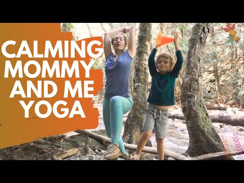 Calming Mommy and Me Yoga | Seattle Mom Lifestyle |