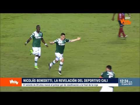 Liga Aguila | Nicolás Benedetti, el referente y figura de Cali