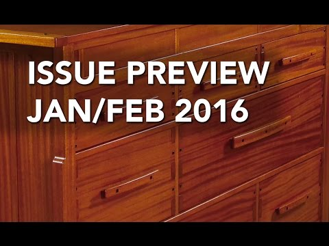 Woodworker's Journal Jan/Feb 2016 Issue Preview