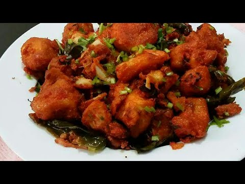 Hot & Sweet Chicken 65 in Tamil
