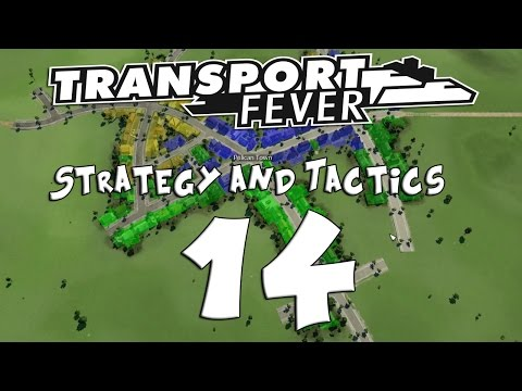 Transport Fever Strategy & Tactics #14 - Alternate Factory