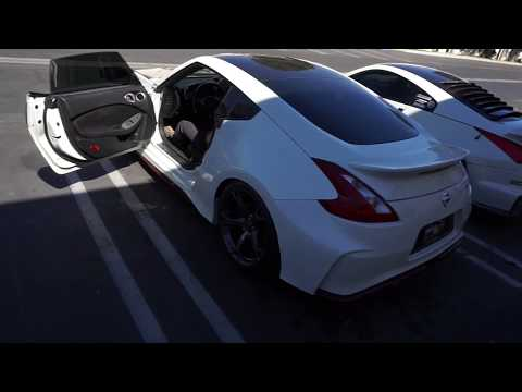 Picking up the Nismo 370z giveaway winner!