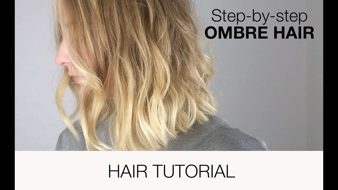 Ombre Hair Tutorial Youtube