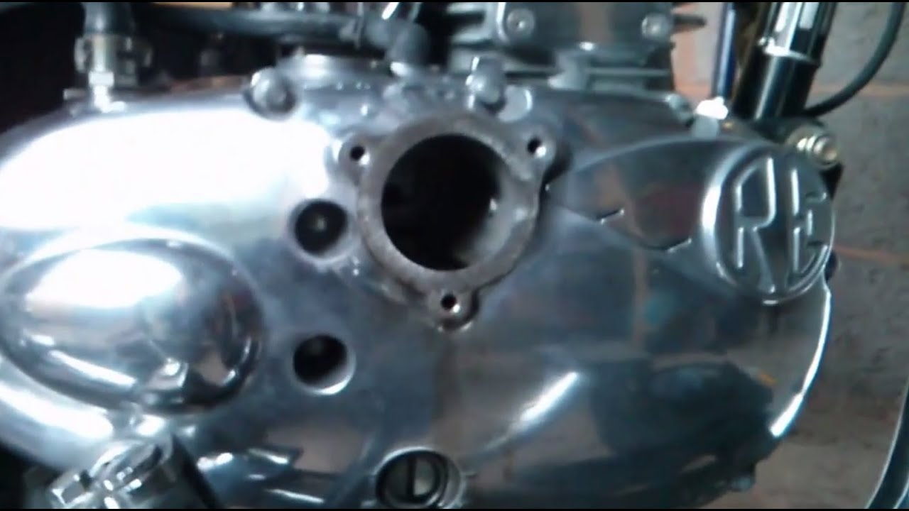 Royal Enfield 500 Engine Diagram Trusted Wiring Diagrams 350 2011 Bullet Efi Oil Change Youtube Chrome