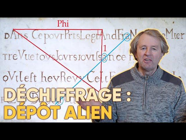 Dépôt Alien-Déchiffrage d'une inscription ancienne !
