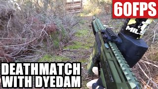 Paintball Woodsball - Deathmatch with Dye Dam - Team SPQR - Fr…
