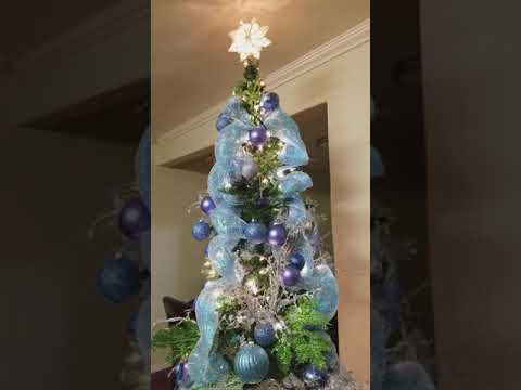 MY REVOLVING CHRISTMAS TREE singing my own interpretation of Have yourself a Merry Little Christmas!
