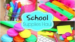Back To School Supplies Haul!