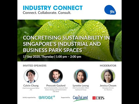 Concretising Sustainability in Singapore's Industrial and Business Park Spaces