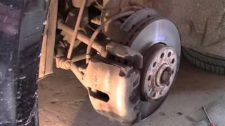 Снятие тормозных дисков Шкода Октавия А5 для проточки