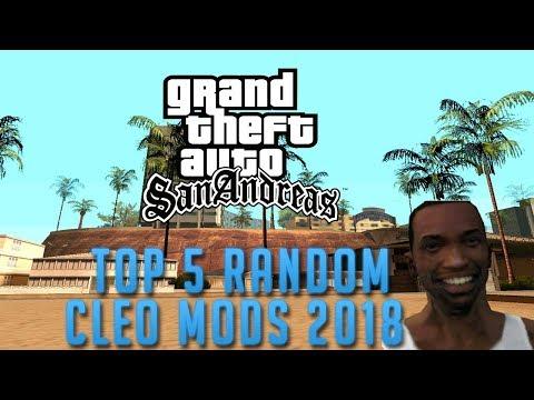 GTA San Andreas Top 5 Random Mods 2018